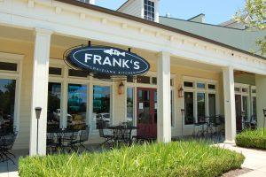 Exterior of Frank's Cajun Seafood Restaurant Shreveport