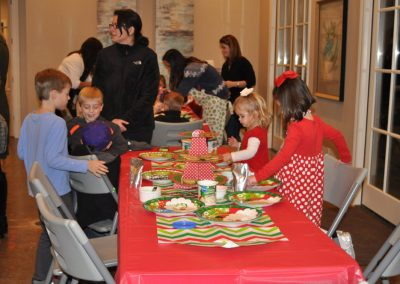 Provenance Kids Christmas Cookie Decorating
