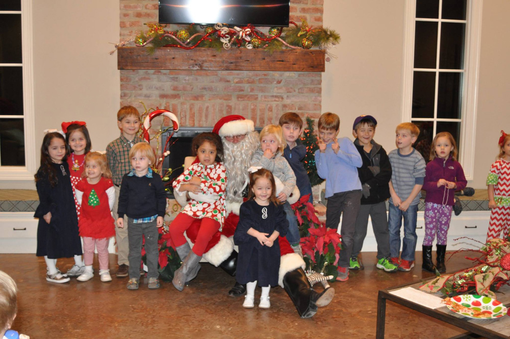 Provenance Kids with Santa
