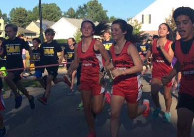 Caddo and Bossier Parish Students Running Club Photo