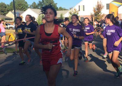 Caddo Parish School Running Group Photo