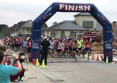 Heels Up 13.1 Mile Race Photo