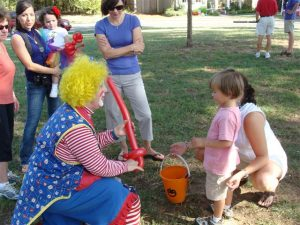 Fall Festival with Clowns