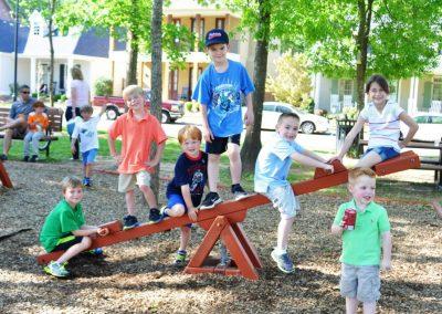 Neighborhood Kids Playing