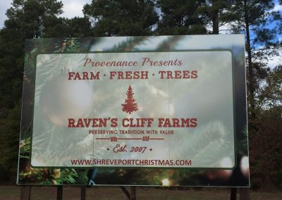 Farm Fresh Trees Shreveport Billboard