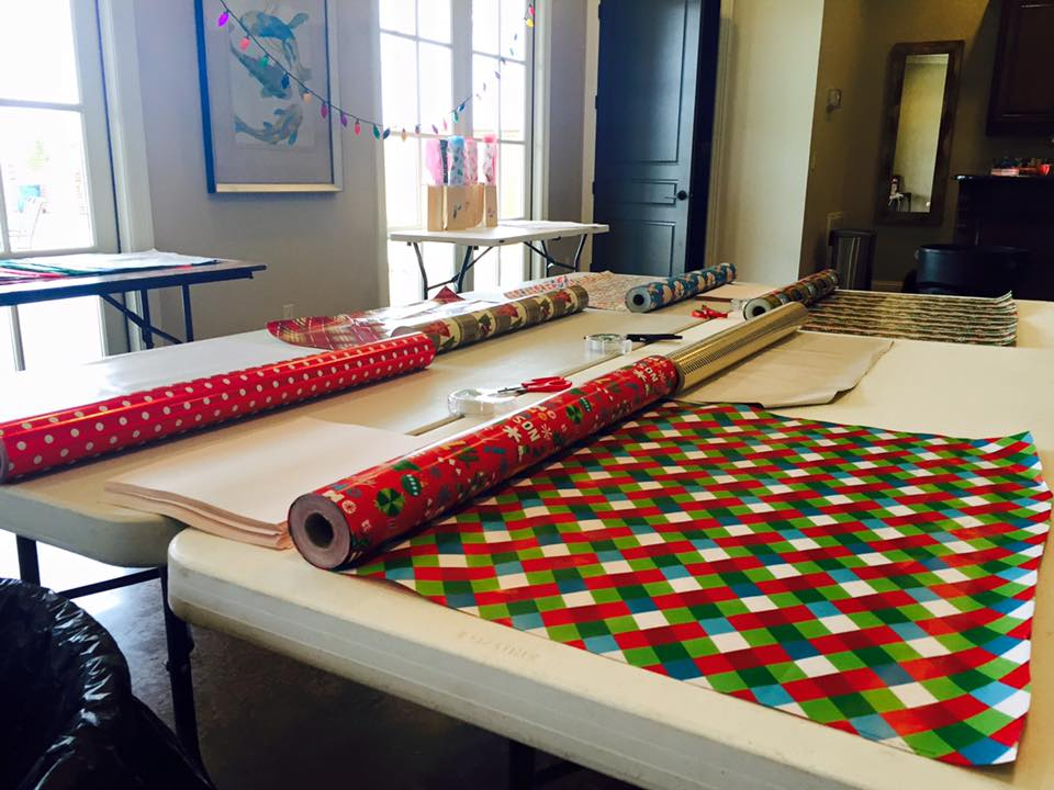 Provenance Christmas Wrapping Party