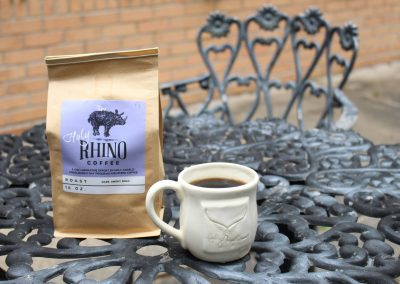 Holy Angels Rhino Coffee