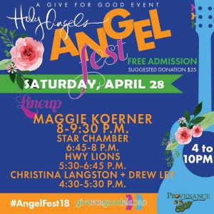 AngelFest Band Times