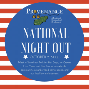 National Night Out Shreveport Provenance October 2nd