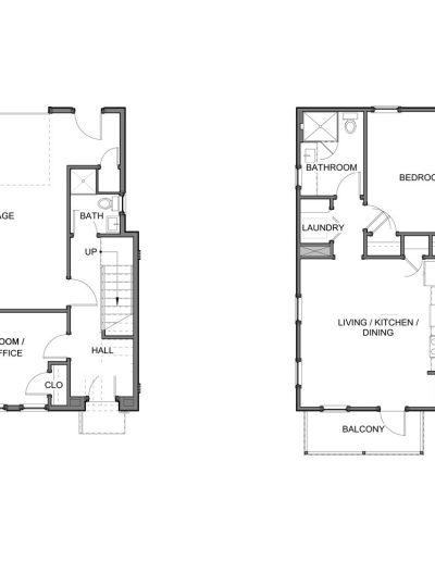 Floor Plan Bridgewater Five