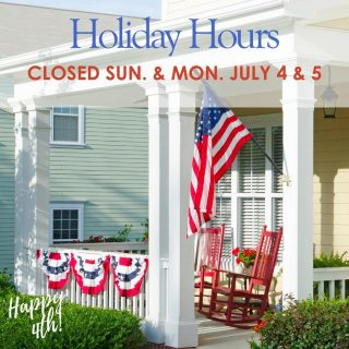 Hi Everyone! Provenance Realty Group will be closed Sunday and Monday July 4th and 5th to celebrate the fourth of July! We will be here Saturday the 3rd from 11 am to 4 pm if you need anything, or we will talk to you Tuesday. Have a great holiday. ❤️💙❤️