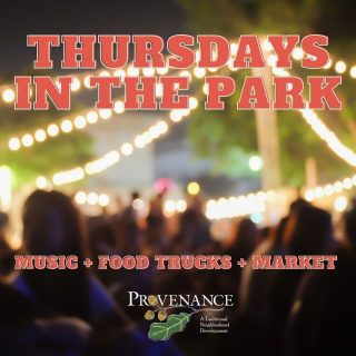 NEXT Thursday starts our new Thursdays In the Park Concert Series in Greenleaf Park. We have reimagined and turned up the volume on the 🎶 MUSIC 🎶 for our Fall events. We have a brand new stage in Greenleaf Park and will be welcoming the areas best local bands. An opening and headliner act will be performing. Food Trucks will be here so you can grab dinner, spread out on the lawn, and enjoy fall. Don't worry, we will still have a small market with some of your favorite vendors to shop. Join us October 7, 14, and 21st, 4-8 pm. Free and Open to the Public. We will be announcing all the performers and food trucks soon. www.yourprovenance.com/events #shreveportevents #eat318 #shreveportmusic #provenancecommunity