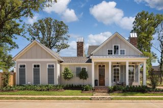 What's not to love about this Farmhouse style home in Provenance? #shreveporthomes #homedesigns #wesleythomas