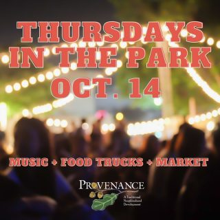 Join us on October 14th 4-8 pm in Greenleaf Park in Provenance for a free Outdoor Concert, Food Trucks and small Market! Grab dinner and dessert, and spread out on the lawn with family or friends and truly experience what Provenance has to offer (BYOB – Bring your own blanket)!  🎶 Opening Musical Act: TD McMurry 🎶 Headliner Musical Act: Bayou Gypsy Food Trucks: Hot Dawg Hut 🌭 and Dripp Donuts 🍩 Market Vendors: Homegrown-In A JAR Be Golden Jewelry McGehee's Bees & Art Apiary LLC Wonderfully Made Cookie Kits Kelly Schmidt Originals Jake and Alli Adventures Healing Water Candles Cotton Candy Crush Nana's & Papas Rosepointe Fare, LLC Mimi's Meat Tamer Johnny's Tamales This Lamb Quilts Custom Created 4U by Tamara Bracelets4George Glory and Grace Splendid Tea Co Riefler Co Terry MacDowell Blue Girl Creations Dardie's Pralines Walk by Faith Glamour Girl Beads Louisiana Fresh LLC Taylor Cade Co. Jessie's Produce